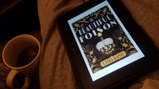 A Beautiful Poison - Lydia Kang - book cover on my Kindle Fire