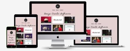 MKGeorge - personal portfolio responsive showcase